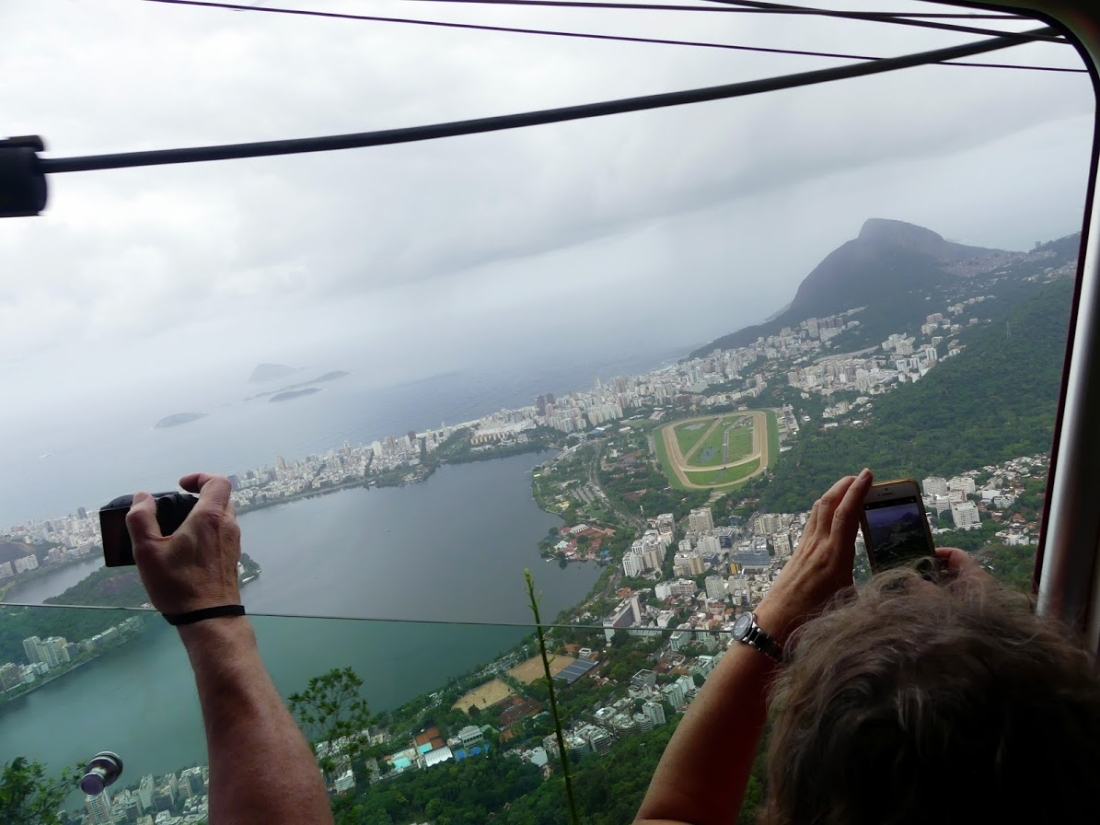 61708f032 For the second hill – Pao de Acucar – you would need to get the cable car  for 56 Reals, unless you are happy to admire that one from the short  distance ...